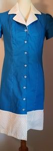 Vintage Reproduction Pinup Girl Dress size Small
